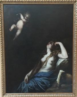 Juan de Sevilla Romero (1645-1695), Mary Magdalene Comforted by an Angel
