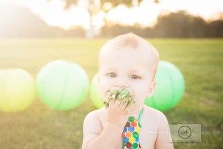 Hungry Caterpillar First Birthday Brisbane Cake Smash Photographer Anna Osetroff-4