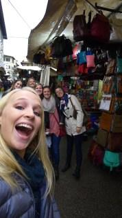 Quick selfie in the markets