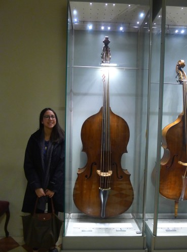Double bass from 1715
