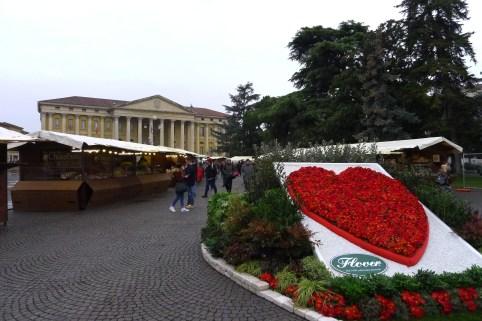 Valentine's festival in Piazza Bra