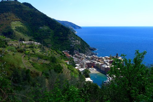 First sights of Vernazza!