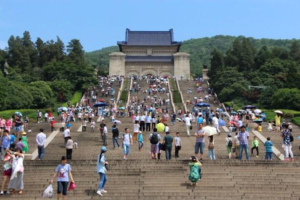 Sun Yat-sen's Mausoleum // Mausolée de Sun Yat-sen