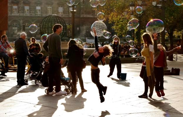 Bubbles! // Bulles !