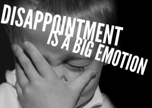 Disappointment is a big emotion: 4 ways to help your child