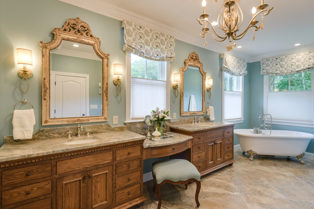 Refined And Traditional Master Bathroom In Millersville