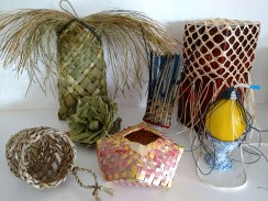"""Basketry Sampler"" by Barb Schutzgruber www.weavstory.com"