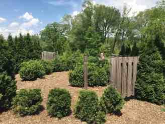 Matthaei Botanical Garden - Children's Garden - Maze