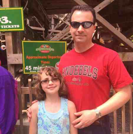 Knoebels - Flying Turns with Dad
