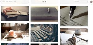 Unsplash writer search