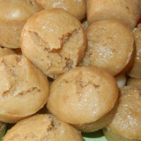 Steamed Mini Yucca-Rice Cakes (Puto)