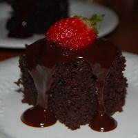 Double Chocolate Fudge Cake & Double Chocolate Cake with Chocolate Ganache