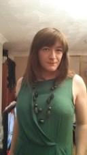 Anna Secret Poet Green Dress Halloween 2015 3