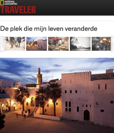 0111-NATIONAL GEOGRAPHIC TRAVELER - NEtherlands Tanger