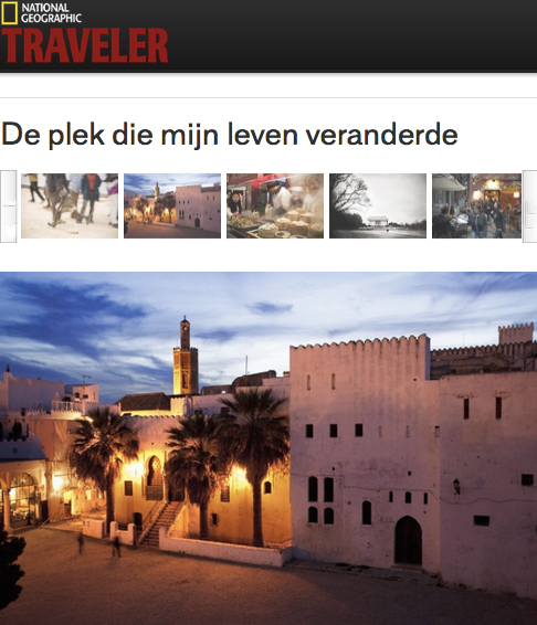 0111-NATIONAL GEOGRAPHIC TRAVELER - NEtherlands Tanger