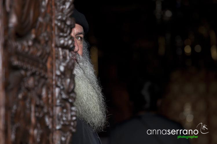 Pope of the Monastery of Patmos island, Greece