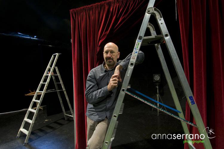 Alain Timar, director of the Théâtre des Halles, Avignon