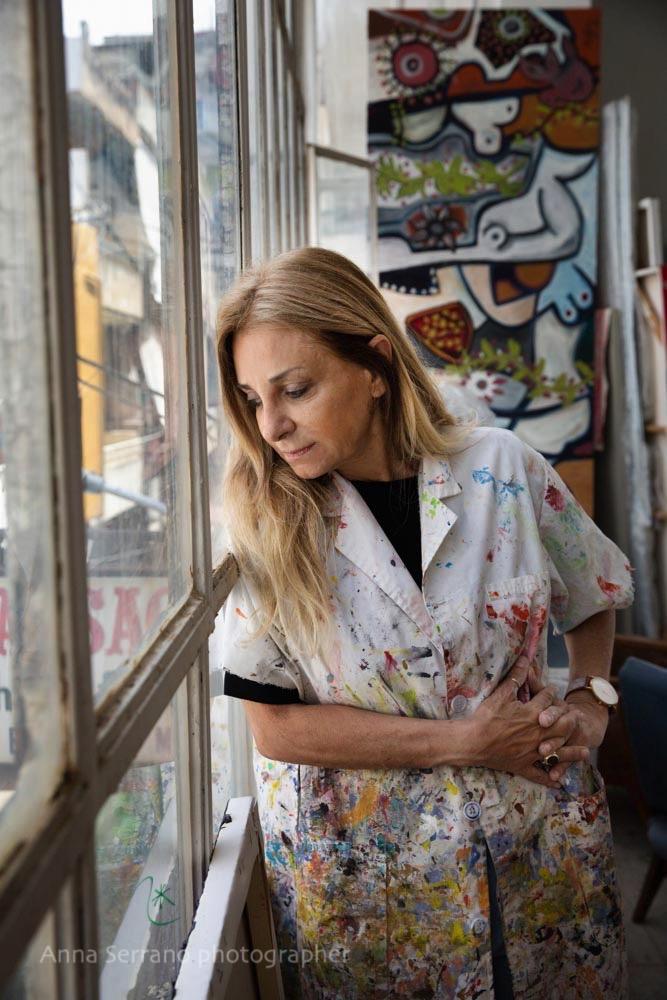 Katya Traboulsi, artist, Beirut