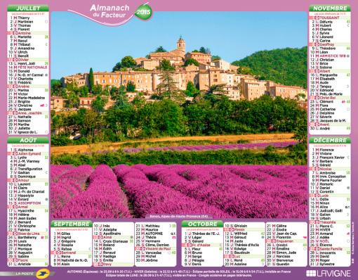 033-Mailmans-Almanac---Almanach-du-Facteur---maison-de-quartier-calendrier-2015-banon-provence
