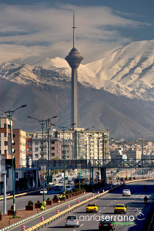 Iran, Middle East, Tehran, Milad Tower
