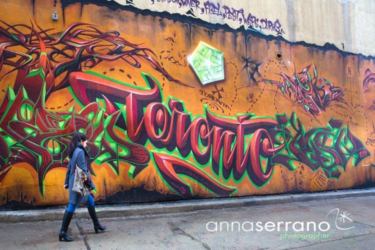 America, North America, Canada, Ontario, Toronto, Graffity Alley