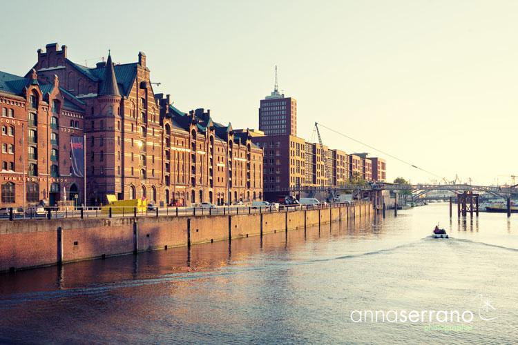 Germany, Hamburg, Hafen City, old warehouse district