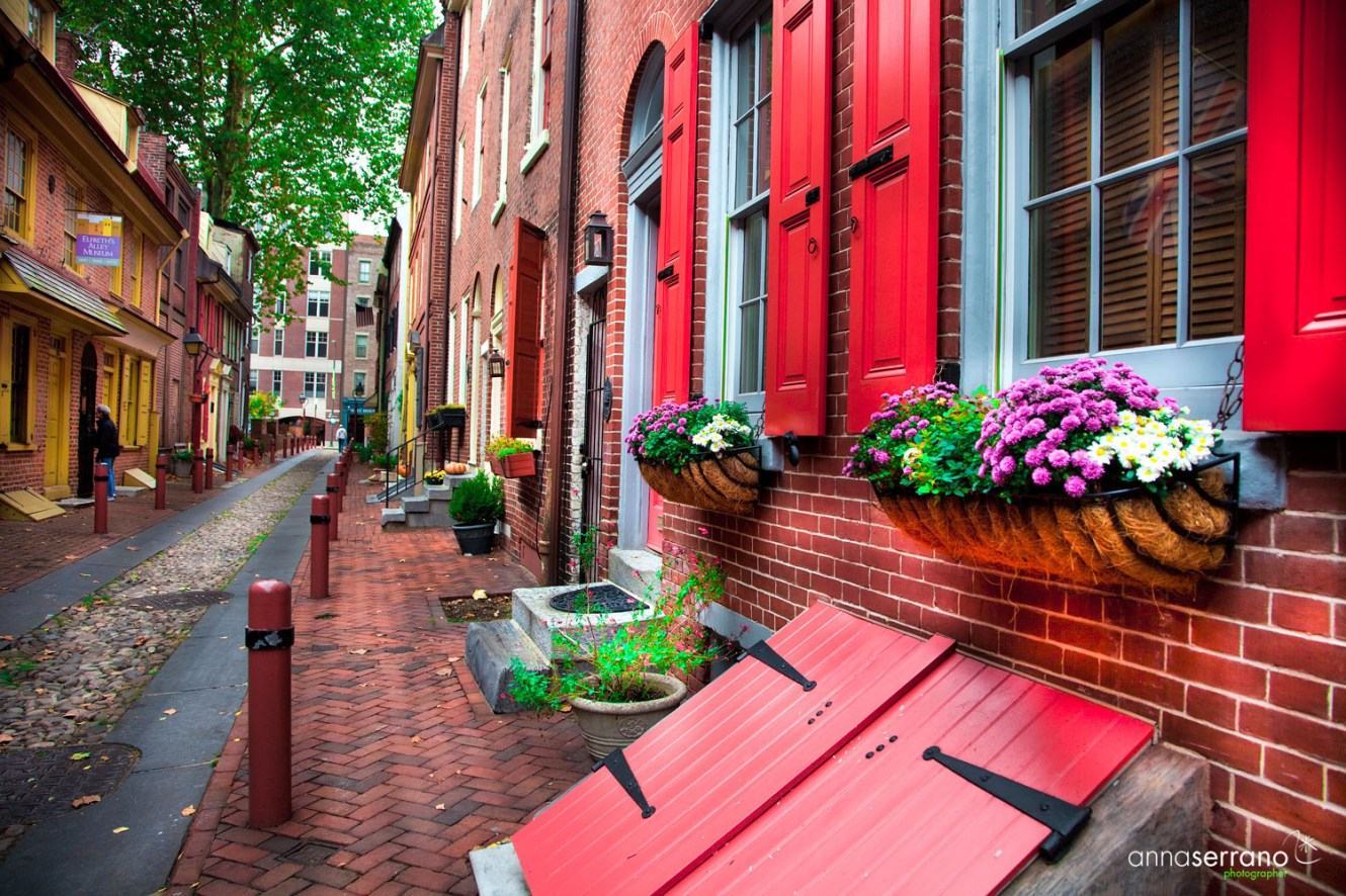 United States of America, Pensylvania, Philadelphia, Old City, Elfreths Alley