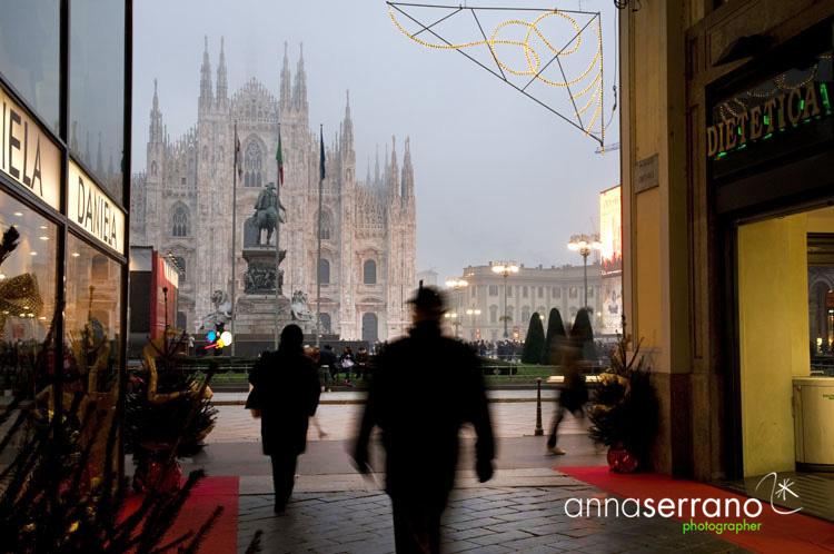 Milano - Christmas - Passaggio Duomo - Italy