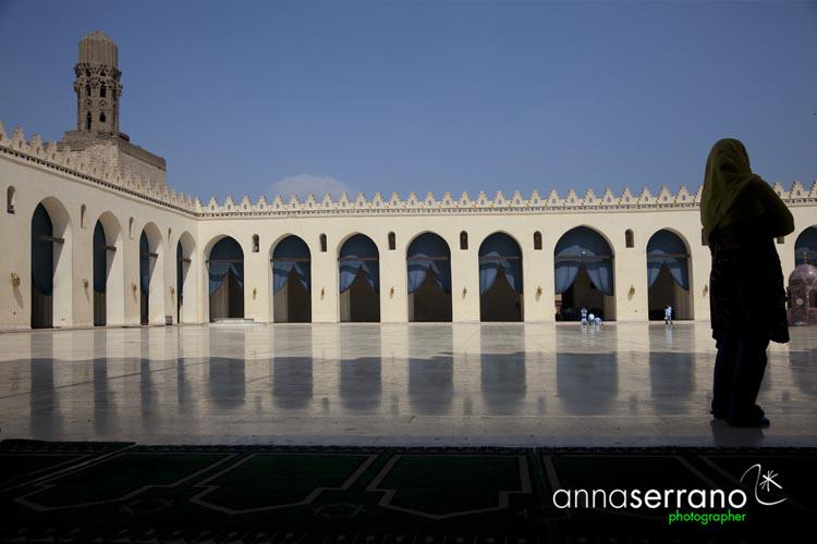 Africa, Middle East, Egypt, Cairo, al-Qahira, Islamic Cairo, Al Hakim mosque