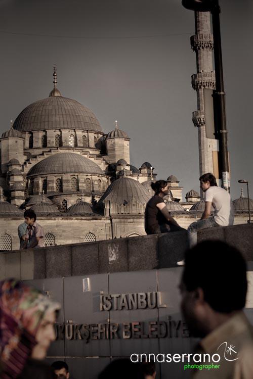 Turkey, Marmara Region, Istanbul, Yeni Mosque