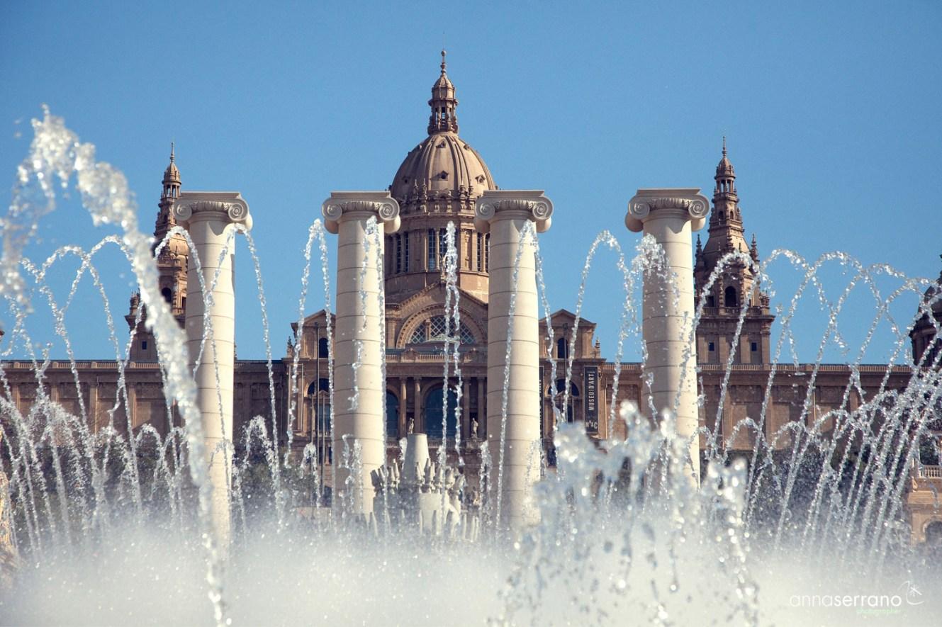 Spain, Catalonia. Barcelona, Montjuic