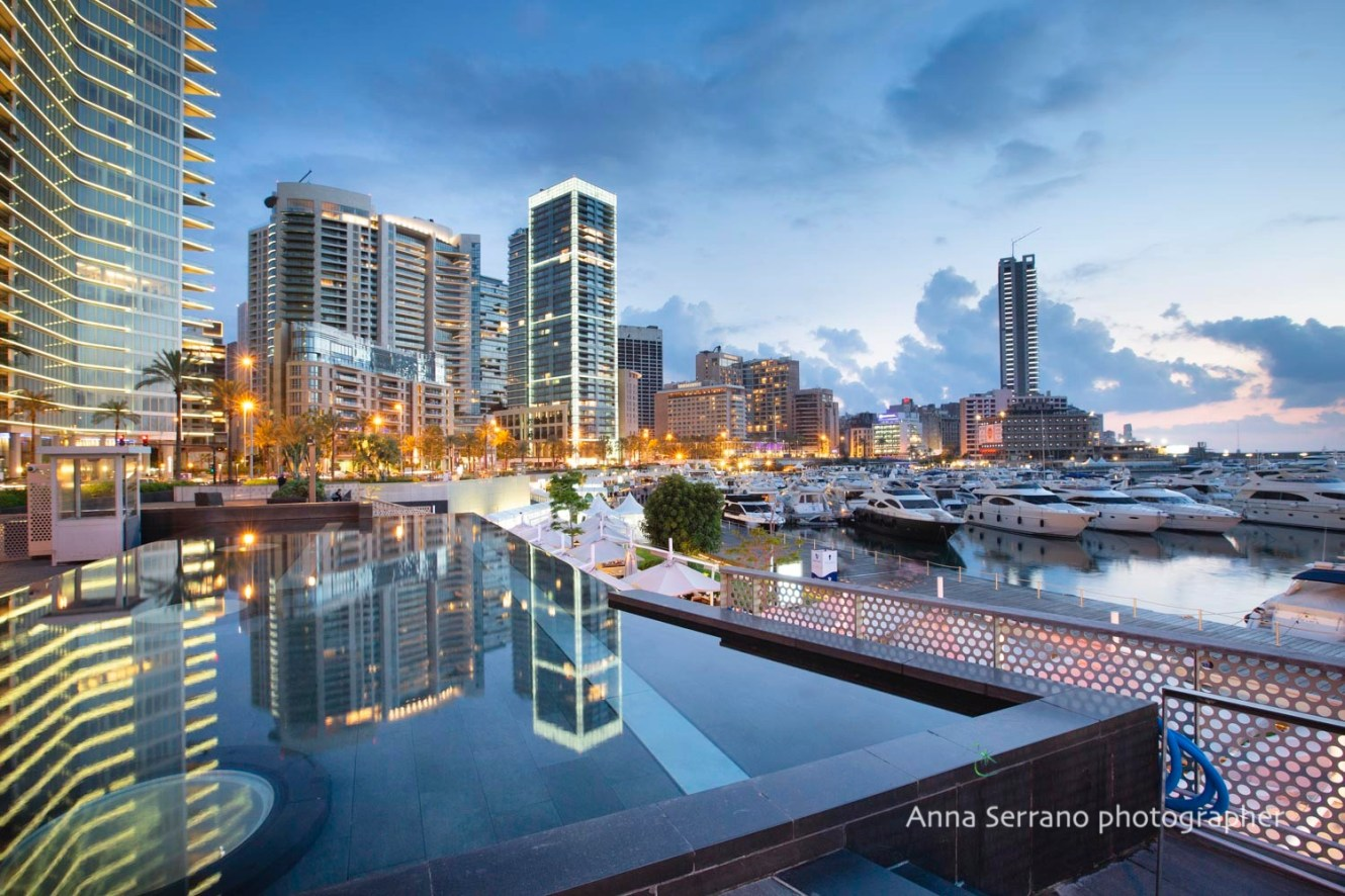 Beirut, harbour