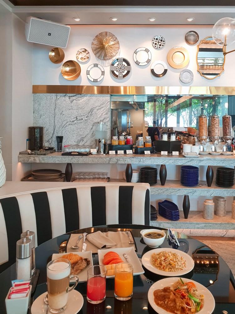 buffet breakfast at the hua hin beach club hotel