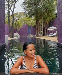 tranquility pool at the barai