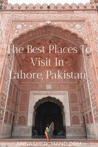 Best places in Lahore Pakistan