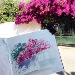 Greece-morning-sketches-anna-sircova - 14
