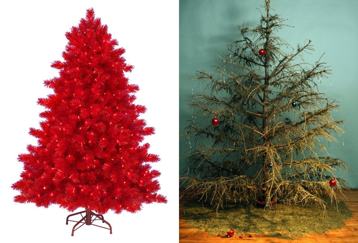 Plastgran vs. riktig gran. Vad som är en klimatsmart julgran kommer att förvåna dig.