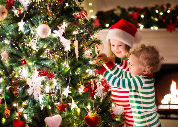 julgran barn