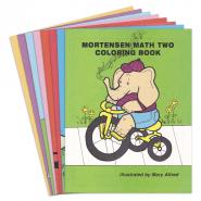 Mortensen Math Skip Count Coloring Books 2-9