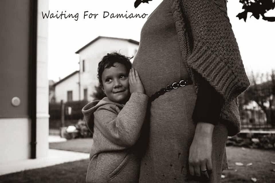 Il pancione della mamma. aspettando Damiano