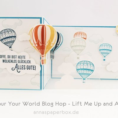 Colour Your World Blog Hop – Lift Me Up and Away