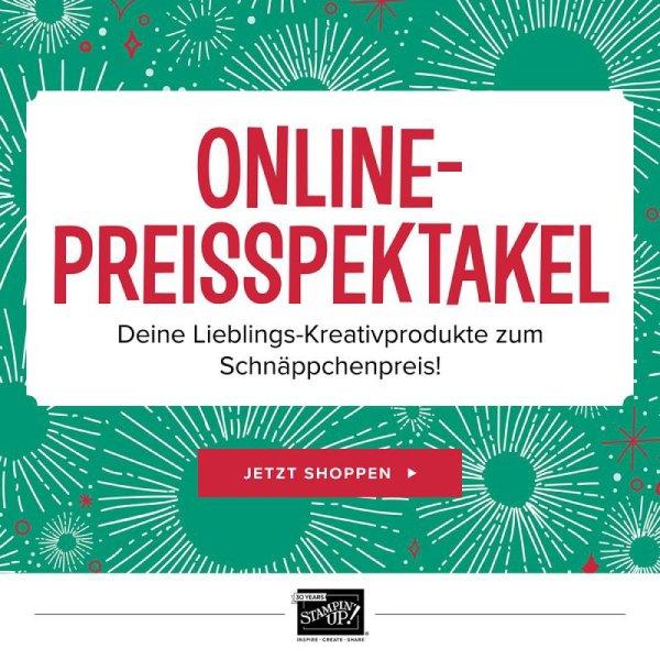 Online-Preisspektakel bei Stampin Up!