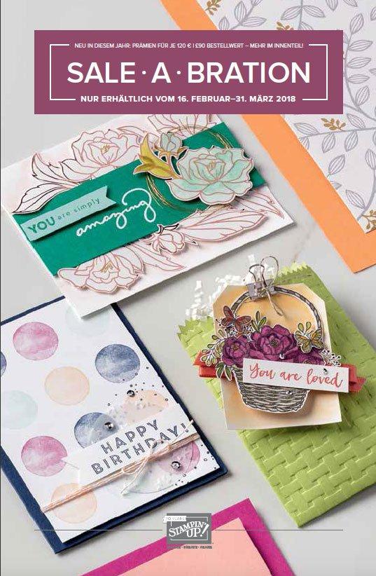 Sale-A-Bration Broschüre neue Prämien