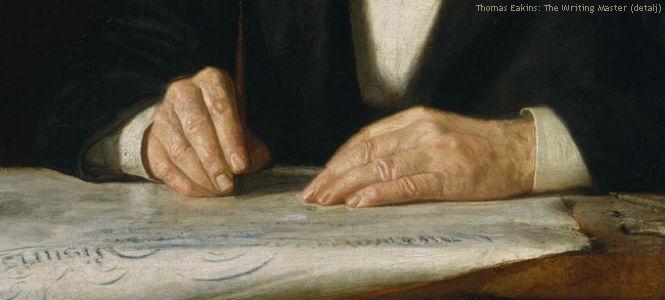 Thomas Eakins - The writing master