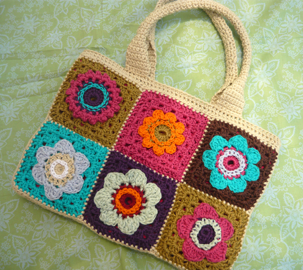 tal's crochet bag