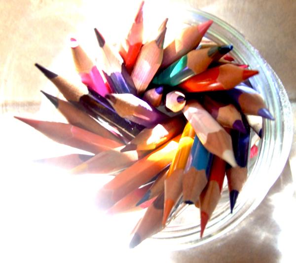 עפרונות לבלוג