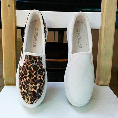 נעליים מנומרות - לפני ואחרי