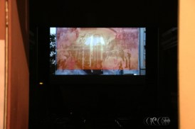 CIRCE The Black Cut 2015 ~ Video Art Screenings @ IRIS Cinema Theatre [Dec21, 2015] ~ video by Shahin Charmi 'No Phoenix Rises From These Ashes' [still]
