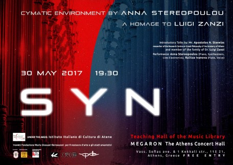 SYN by Anna Stereopoulou | 30 May 2017 | poster