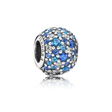 PANDORA_High Summer Collection 2015_Silver charm with pave-set blue cubic zirconia_HK$699 copy